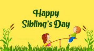 Happy Siblings Day