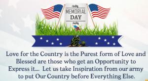 Memorial Day greeting 2021