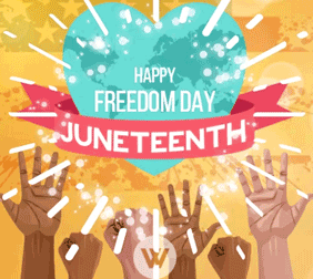 Happy Juneteenth gif