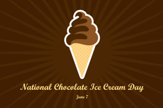 Happy National chocolate ice cream day