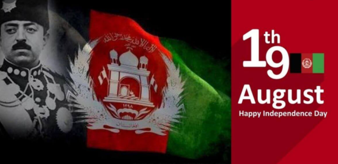 Happy Afghanistan independence day