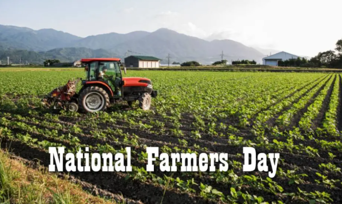 Happy National Farmers day 2021