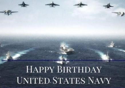 Happy US Navy Birthday 2021