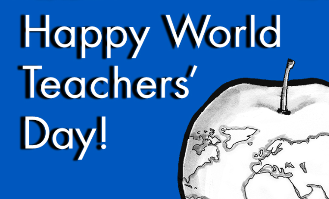 Happy World Teachers' day